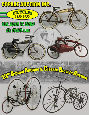Antique Bicycle Auction Catalog