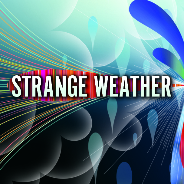 Strange Weather Films Print Design Work