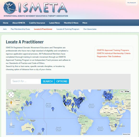 Website Redesign for ISMETA