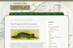 Farmscape Ecology Program: Progress of the Seasons Project