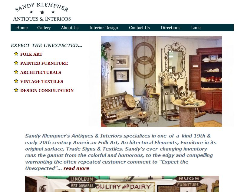Sandy Klempner Antiques & Interiors