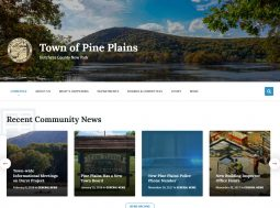 Town of Pine Plains, New York Website Development