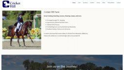 Cricket Hill Website Redesign